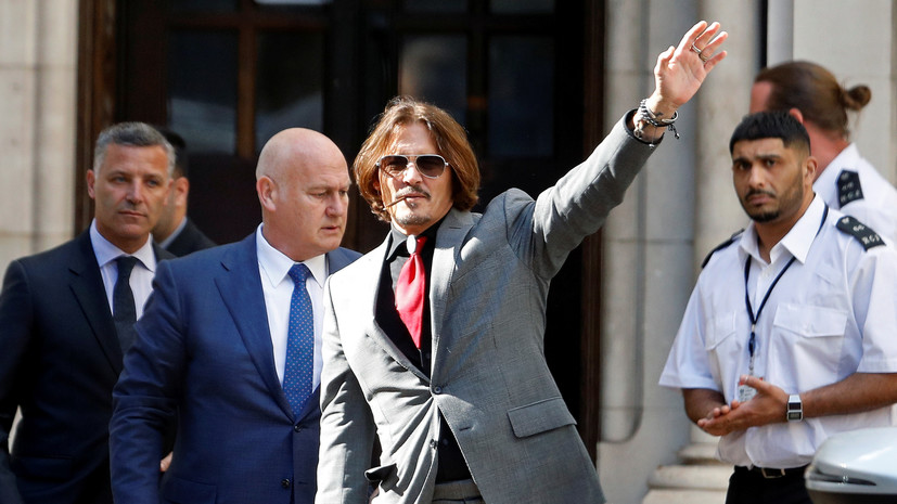 Обвинения в клевете и свидетельства побоев: как проходит суд по иску Джонни Деппа против The Sun