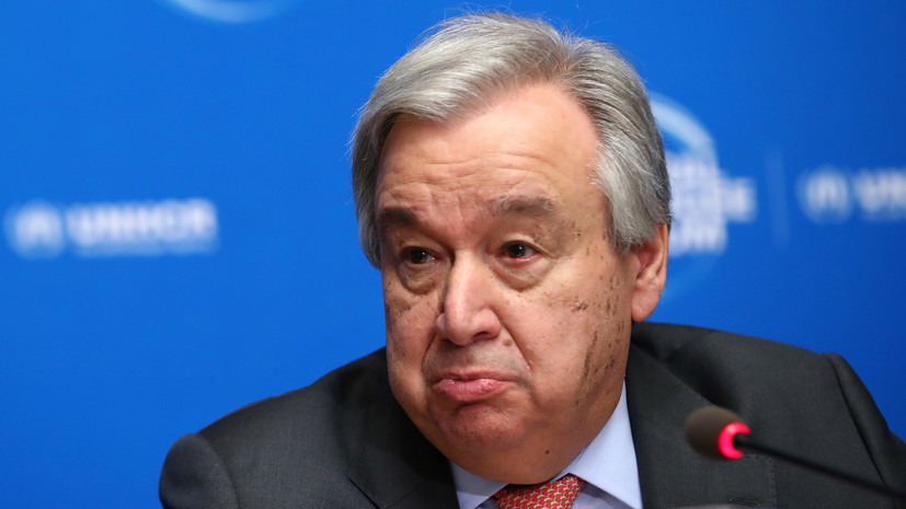 Генсек ООН поговорил с лидерами Азербайджана и Армении