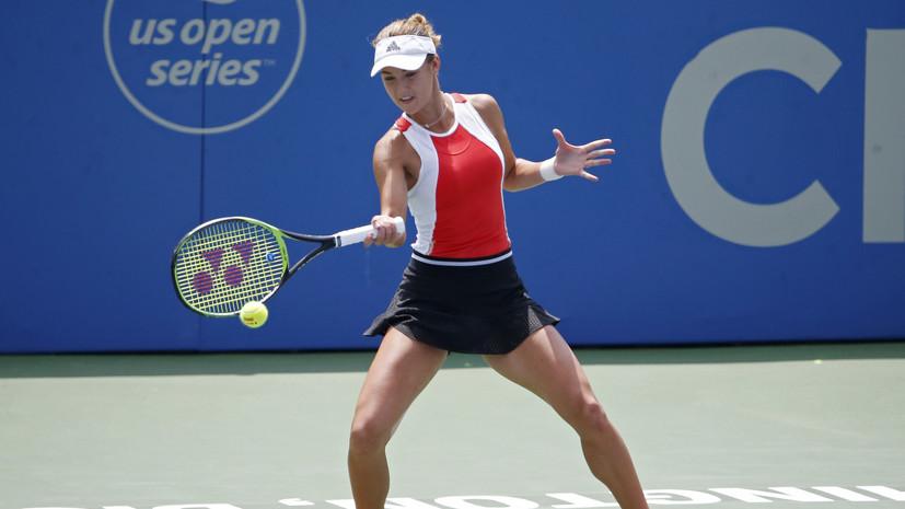 Теннисистка Калинская переболела коронавирусом