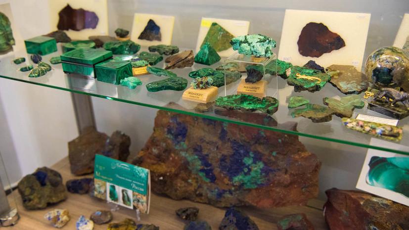 Музей самоцветов и минералов открылся на курорте «Роза Хутор»