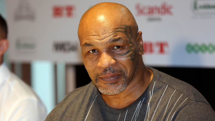 СМИ назвали дату боксёрского боя Тайсона с Джонсом