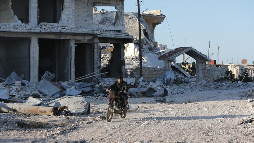 Террористы обстреляли населённые пункты в Идлибе и Латакии