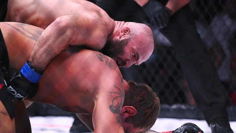Исмаилов сломал Емельяненко нос во время главного боя турнира АСА 107