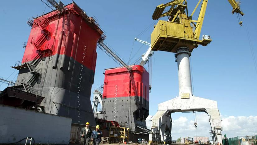 В Ленинградской области заложили сторожевой корабль ледового класса