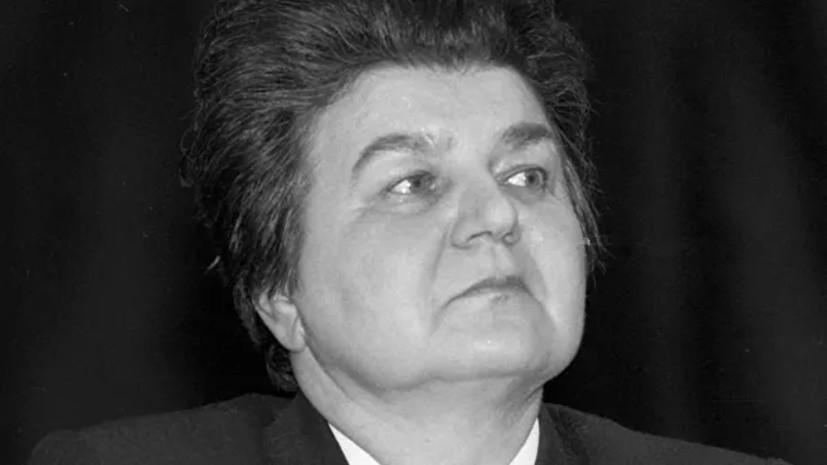 Умерла автор письма «Не могу поступаться принципами» Нина Андреева