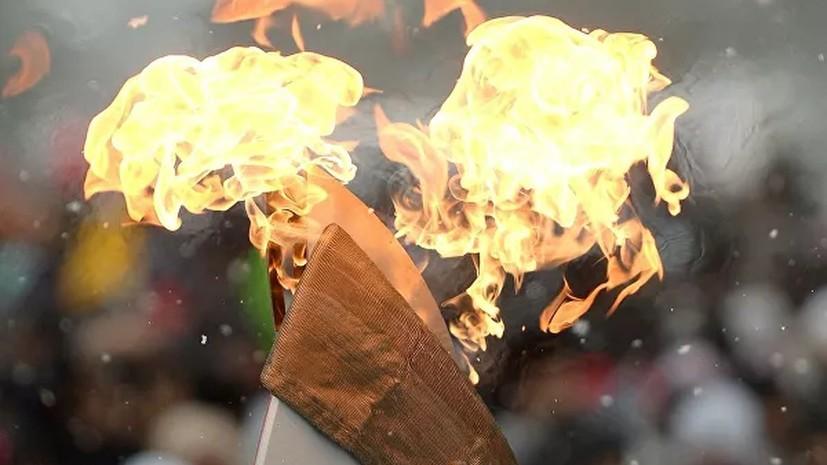 Факел Олимпиады 1980 года в Москве был продан на аукционе
