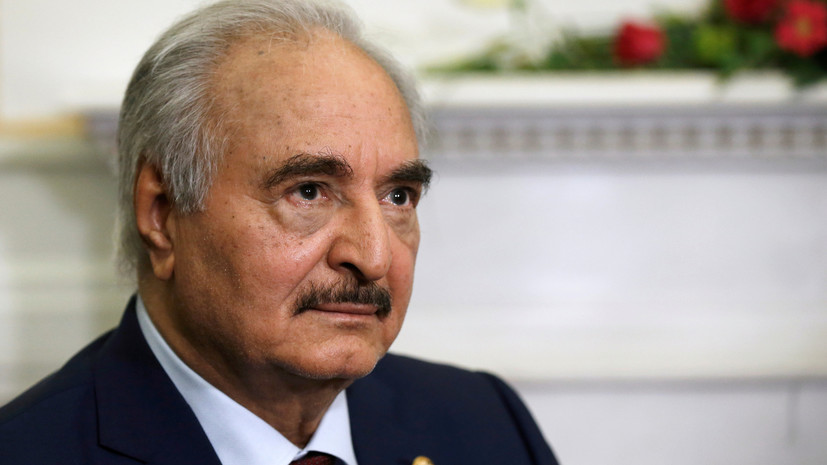WSJ: США пригрозили главе Ливийской национальной армии санкциями