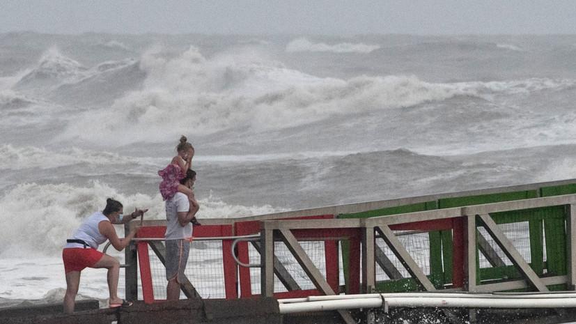 Трамп объявил режим ЧС в Техасе из-за урагана «Ханна»