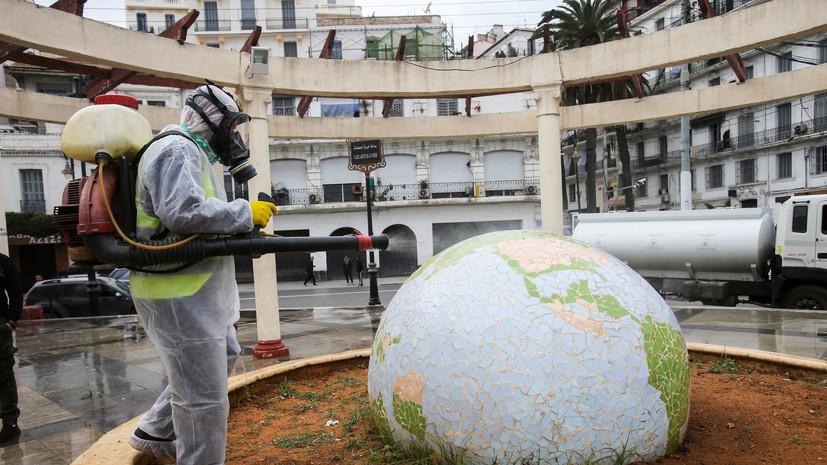 В 29 провинциях Алжира продлён комендантский час из-за коронавируса