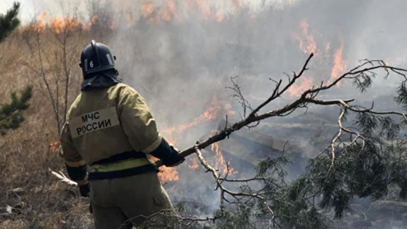Режим ЧС введён в одном из районов Чукотки из-за пожаров