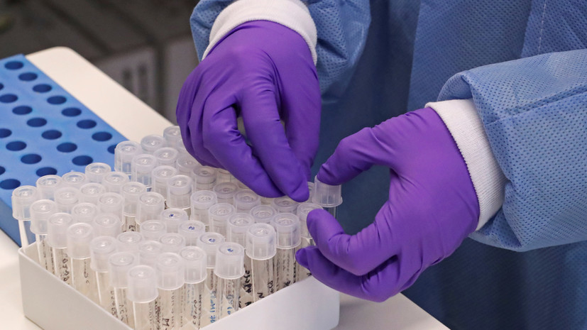 В России зарегистрировано 118 тест-систем для диагностики коронавируса