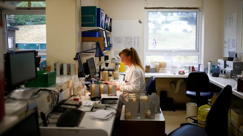 В Британии за сутки выявили 581 случай коронавируса