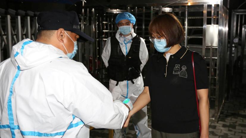 За сутки в КНР выявлен 101 новый случай коронавируса