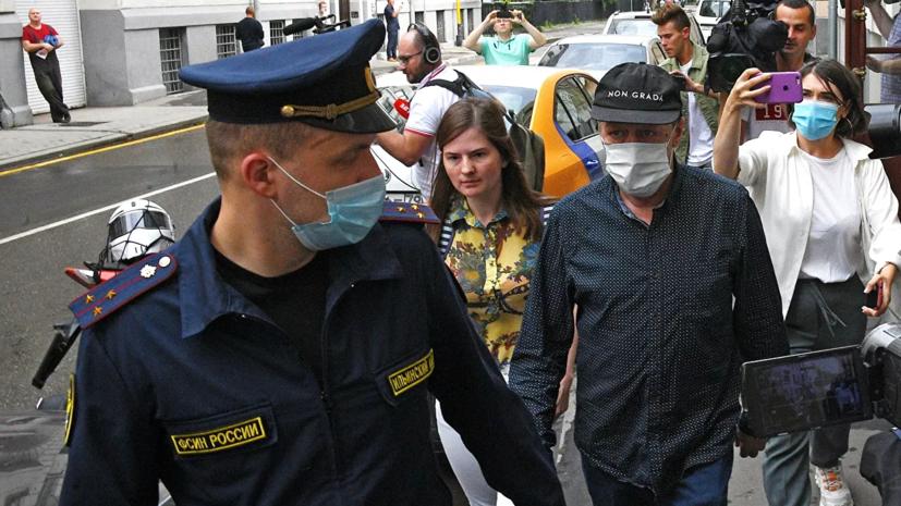 Адвокат заявил об отказе Ефремова от признания вины в материалах дела