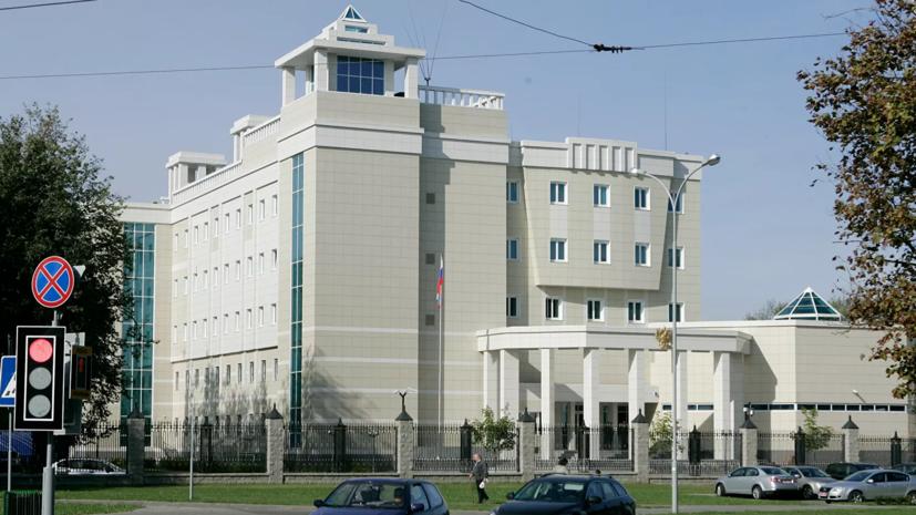 Посольство России получило уведомление о задержании россиян под Минском