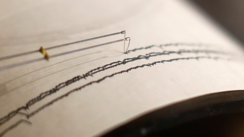 К югу от Японии произошло землетрясение магнитудой 5,8