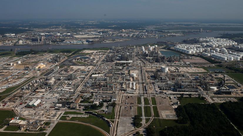 В Техасе произошёл взрыв в хранилище сжиженного газа