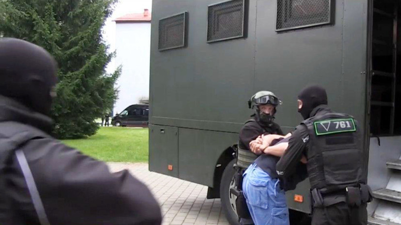 Задержанных в Белоруссии россиян заподозрили в подготовке теракта