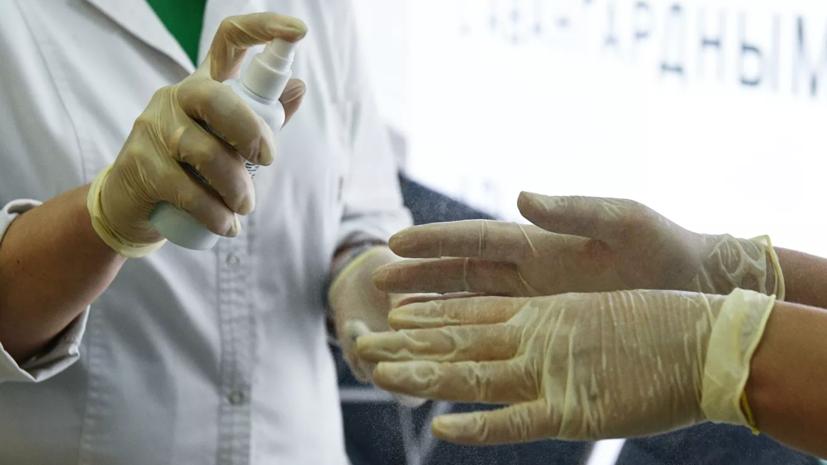 В России снизились продажи перчаток и антисептиков