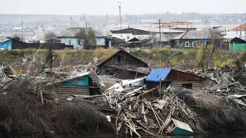 Путин пообещал посетить пострадавший в 2019 году от наводнения Тулун