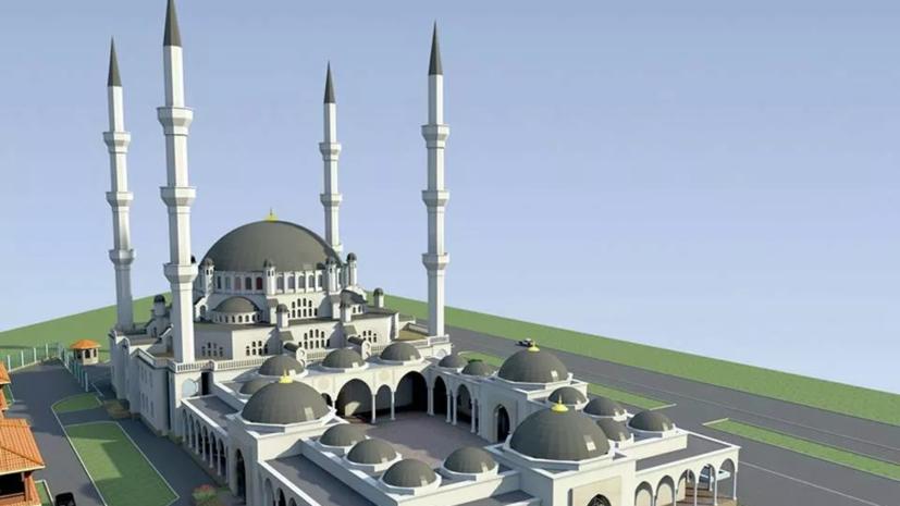 Строящуюся соборную мечеть в Симферополе распишут специалисты из Турции
