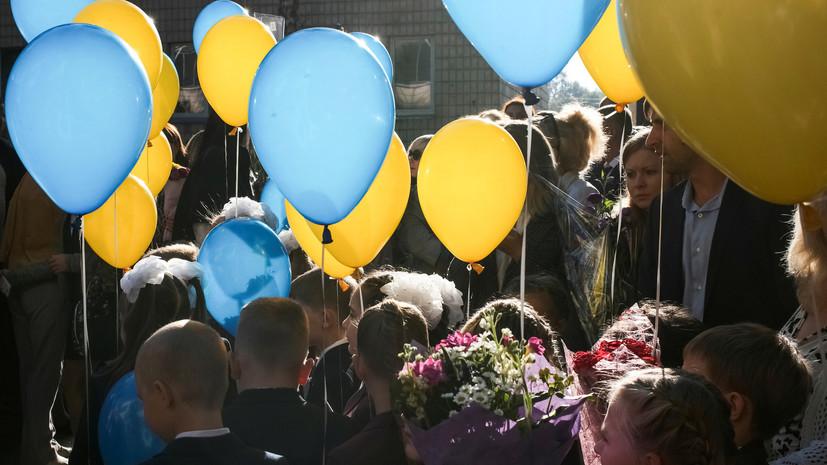 Решение Киевсовета: Киевские школьники будут каждый день начинать спения гимна