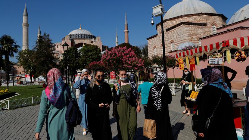 За сутки в Турции выявили 967 новых случаев коронавируса