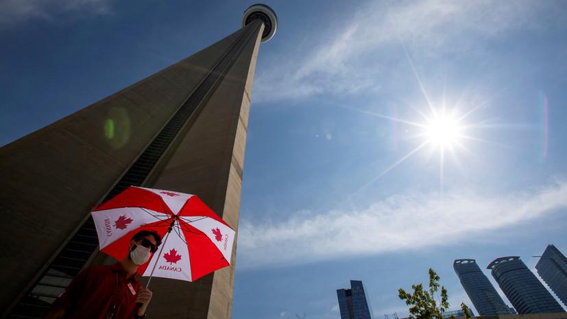 В Канаде число выявленных случаев коронавируса достигло 115 799
