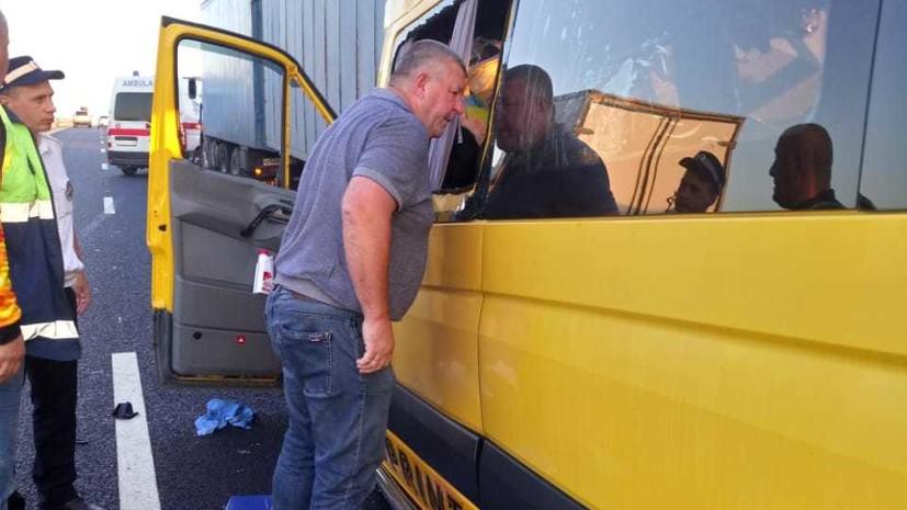 Число жертв ДТП с микроавтобусом в Крыму увеличилось до девяти