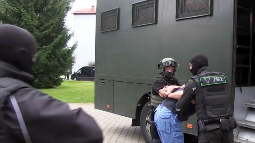 Украина попросила Белоруссию арестовать задержанных россиян