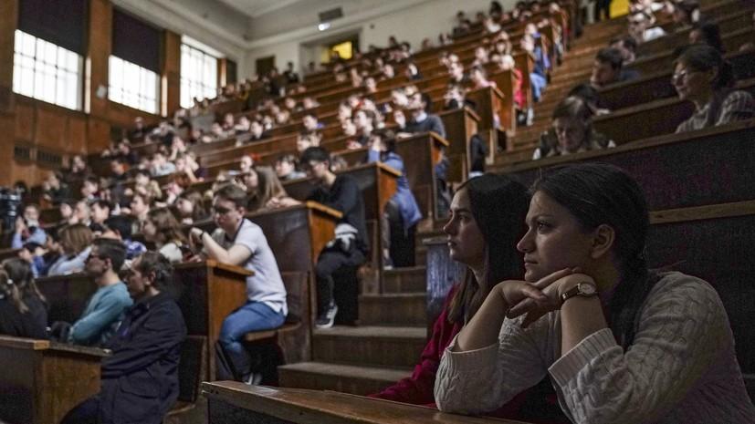Роспотребнадзор: студенты на занятиях в вузах должны носить маску