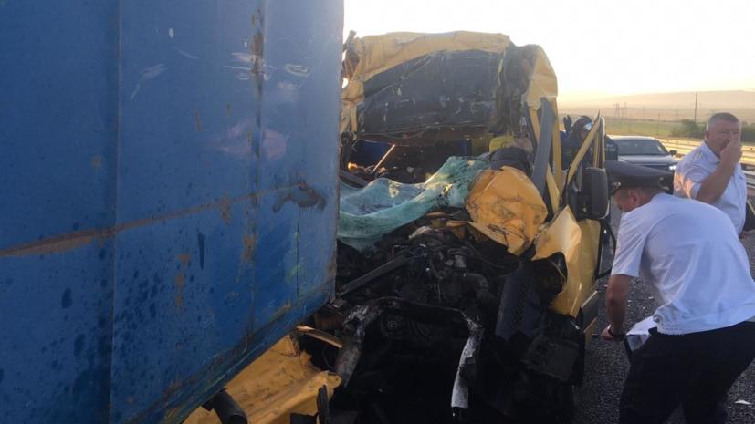 По делу о ДТП в Крыму задержан организатор перевозки микроавтобусом