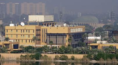 СМИ: Посольство США в Багдаде подверглось ракетному обстрелу