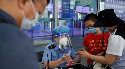 За прошедшие сутки в КНР выявлено восемь новых случаев коронавируса
