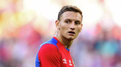 Футболист ЦСКА Чалов — о голе в матче с «Ахматом»: соскучился по этому ощущению