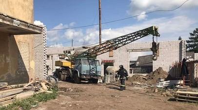 МЧС завершило спасательные работы на месте обрушения под Кировом