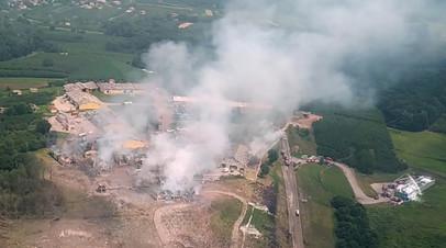 Число жертв взрыва на фабрике фейерверков в Турции возросло до шести