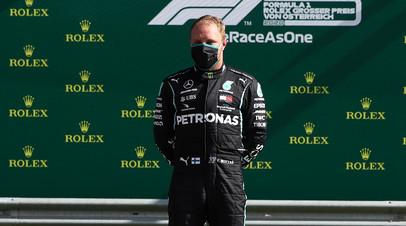Боттас прокомментировал свою победу на Гран-при Австрии