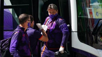 У тренера «Уфы» Евсеева произошёл конфликт с футболистом «Урала» во время матча