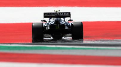 Квят рассказал, что на его проблемы на Гран-при Австрии повлиял инцидент с Оконом