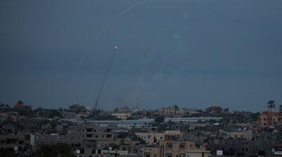 Израильская авиация ударила по объектам ХАМАС в секторе Газа