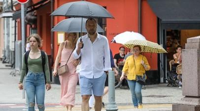 В Москве 9 июля ожидается до +21 °С