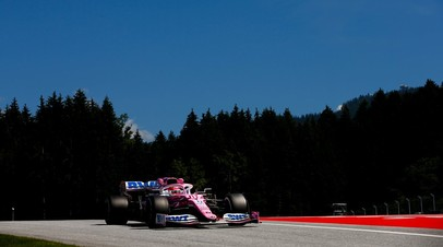 Перес стал лучшим в первой практике Гран-при Штирии, Квят — 11-й
