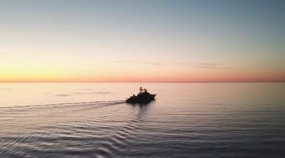 «Вице-адмирал Кулаков» прибыл в Финский залив — видео