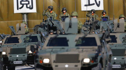 Бойцы Сил самообороны Японии