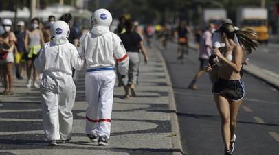 В Бразилии число выявленных случаев коронавируса превысило 1,9 млн