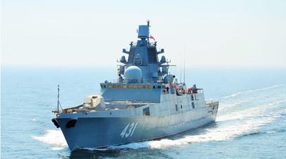 «Очень серьёзная система обеспечения безопасности»: как фрегат «Адмирал Касатонов» усилит российский флот