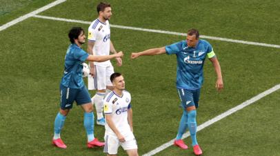 «Зенит» открыл счёт на второй минуте матча РПЛ с «Оренбургом»