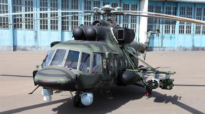 Транспортно-боевой вертолёт для спецназа Ми-8АМТШ-ВН