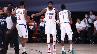 В Орландо прошли первые выставочные матчи перед рестартом сезона НБА
